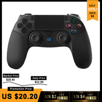 Wireless Bluetooth Controller For PS4 Console Gamepad For PS3/PC Joystick