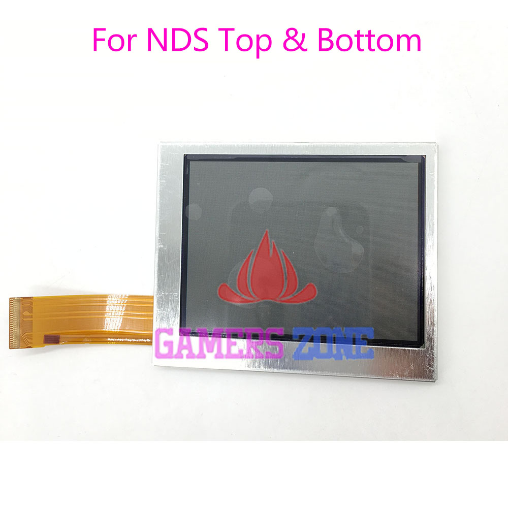 Original Top Bottom Upper Lower LCD Screen Display for Nintendo DS NDS Game Console LCD Screens original brand new top upper lcd display screen replacement for nintendo 3ds