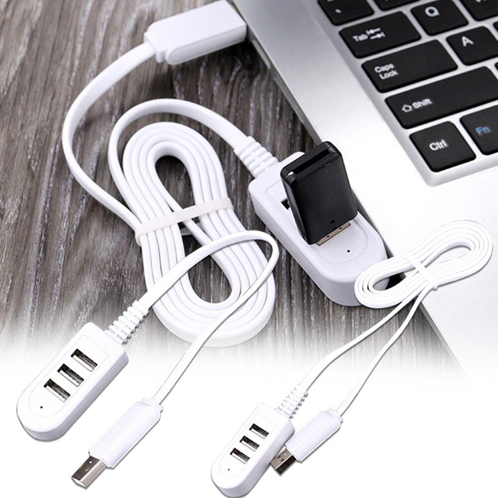 Usb-концентратор, адаптер 3-Порты и разъёмы USB разветвитель для портативных ПК Ноутбук-приемник периферийное устройство компьютера аксессуар...