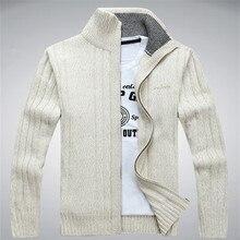 NIANJEEP зимний Кардиган мужские шерсть хлопок Мужские Модные свитеры человека трикотаж одежда Sweatercoats 203