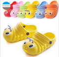 2017 summer baby sandals antiskid shoes children's boys and girls slippers lovely caterpillar EVA materials kids garden shoes