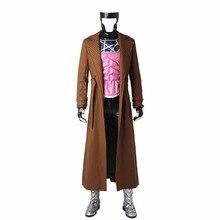 X-Men Gambit Cosplay Costume Suit Adult Men's Halloween Carnival Costume Cosplay