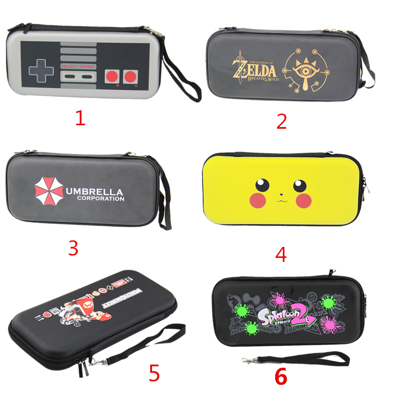 Portable Hard Shell for Nintend Switch Water resistent EVA Carrying Storage Case HandBag for Nintend switch NS Console Accessory-in Replacement Parts & Accessories from Consumer Electronics    1