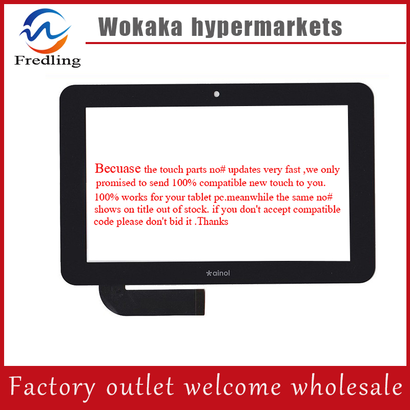 "New 7"" capacitive touch screen digitiger touch panel for Ainol Novo 7 Aurora II 2 7087 tablet pc MID IPS 300-L3666B-B00 V1.0"
