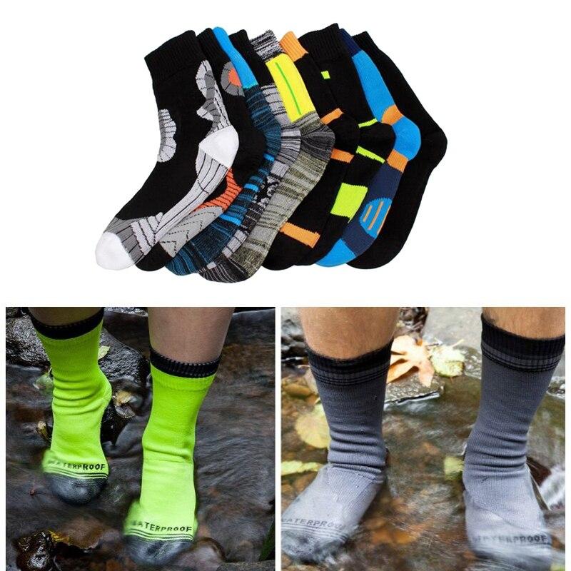 High Quality Outdoor Waterproof Snow Socks Men Cycling Socks Climbing Hiking Ski Socks Women Quick Dry Socks Antiskid Outdoor