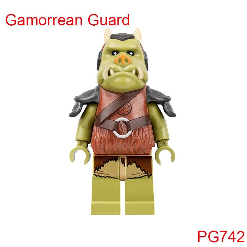 Gamorrean Guard телохранителей в JabbaS дворец строительные блоки Star Wars 75005 злобы боксе комплект кирпич игрушки для детей