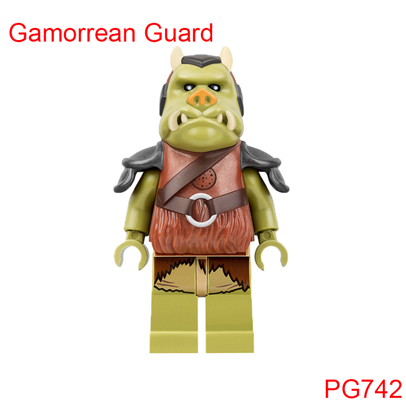 Gamorrean Guard Bodyguards Within JabbaS Palace Building Blocks Star Wars 75005 Rancor Pit Set Brick Toys For Kids