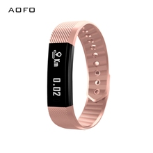 AOFO Fitness Tracker, Slim Touch Screen Activity Tracker Wireless Smart Bracelet Pedometer