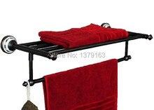 Аксессуары Для ванной комнаты Роскошный Масло Втирают Бронзовый Настенные Ванная вешалка для полотенец и полотенце бар aba063