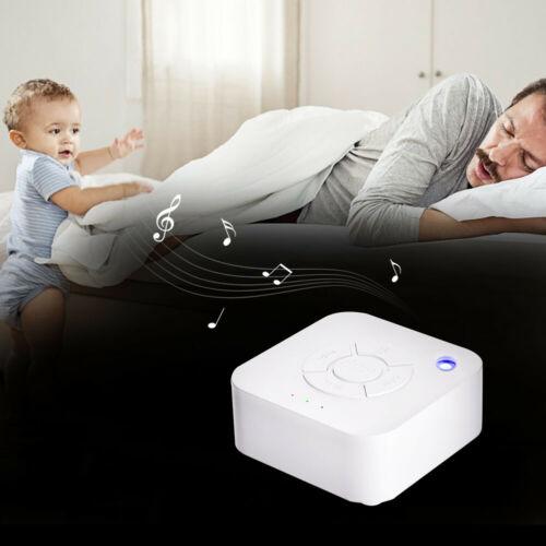 Sound Machine White Noise Generator Spa Easy Sleep Baby Rain Relax Therapy Kids