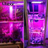 Mabor植物成長ライトプレミアム屋内6ワット花紫t8庭の植物成長ランプ野菜ブルームeuプラグac185-265v