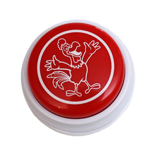 4pcs/set Funny animal sound buzzer button for children learning Talking push animal easy sounds buttons
