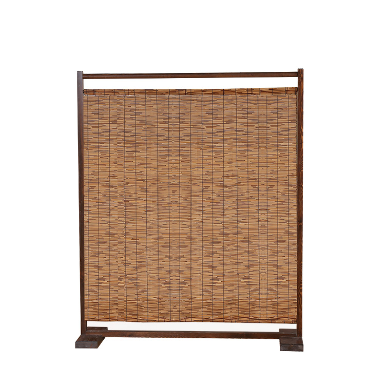 Decorative Wood&Bamboo Room Divider Screen Bamboo Furniture Privacy Screen Portable Room Divider For Rooms/Office Partition