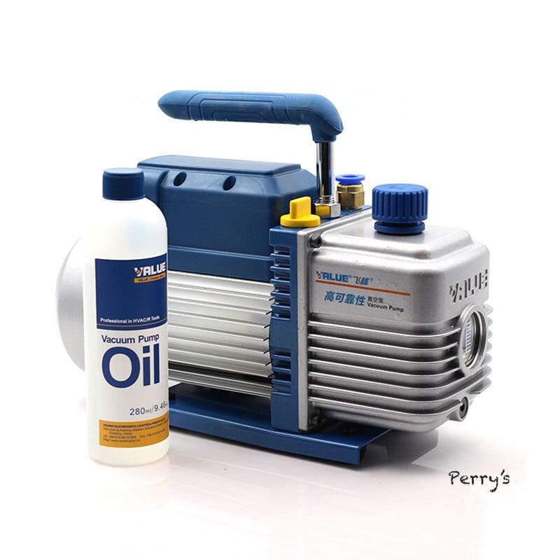 5.4m3/h 220V Air Suction Air Pump Electrical Vacuum Pump Quiet A/C Maintenance & Repair