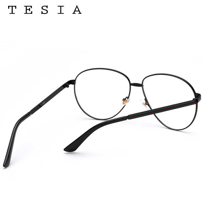 f8c948b433 ... TESIA Aviator Women Glasses Frame Brand Designer Men Eyeglasses Frame  Eyewear Clear Lens For Optical Glasses ...