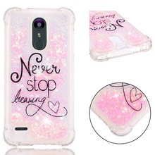 цена на 3D Liquid Silicone Case for Coque LG K8 2018 / LG K9 Funda Etui for LG K4 K8 K10 2017 2018 Stylo 4 / LG Q Stylus Case Funda Etui