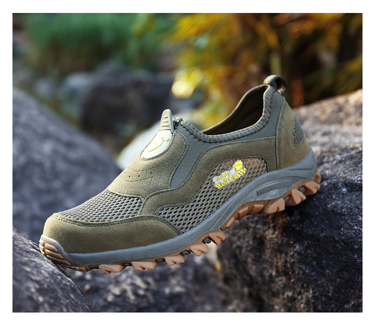 Comfortable Mens Walking Shoes Summer Breathable Slip On Sport Sneakers Beach Water Shoes Outdoor Men Athletic Sneakers 11