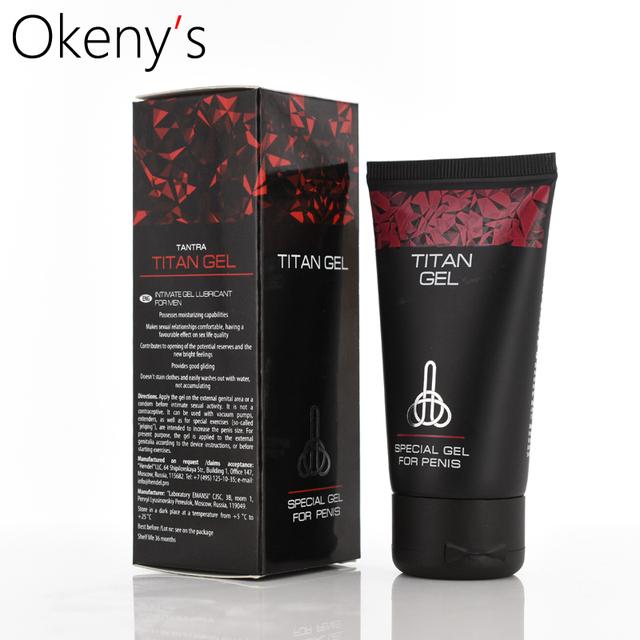 ORIGINAL TITAN GEL Penis Enlargement Cream Increase Dick Enhancement Pills Male Sex Time Delay Erection Cream Adult Sex Product