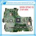 НОВЫЙ Для ASUS N53SV N53SN N53SM материнская плата Оригинальный ноутбук (mainboard) GT540M 2RAM слоты REV2.2 USB 3.0