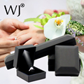 Deluxe LED Lighted PU Leather Diamond Jewelry Ring Box Gift Propose Engagement Pendant Earring Bracelet Necklace Set Organizer