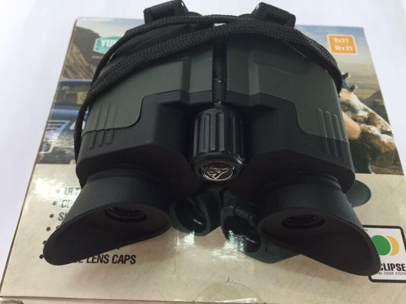 Original Yukon binoculaire 22141 portable binoculaire sideview 8x21 télescope léger 190g/ea poche-taille expédition rapide