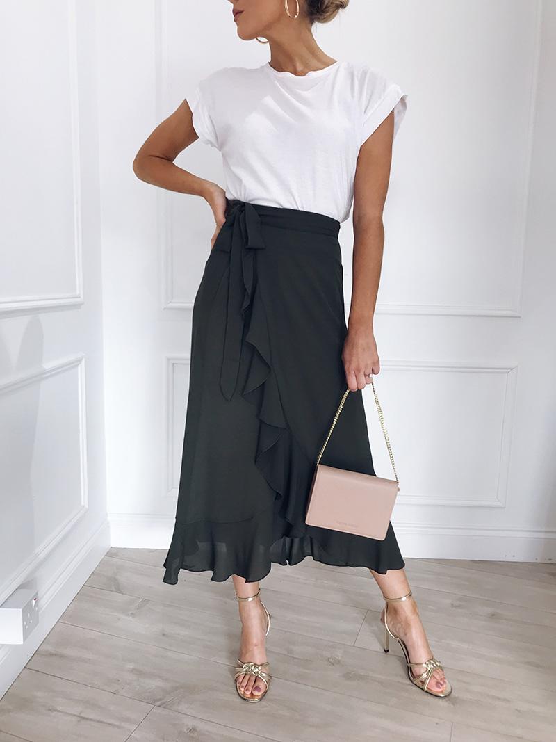 Hot Sale 19 New Slim Fashion Casual Women Leopard Print Boho Wrap Over Aysmmetric Loose Skirt Summer High Waist Midi Skirts 17