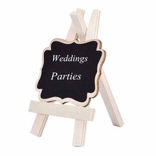 В деревенском стиле, свадебные, вечерние, для дня рождения, для мальчиков и девочек, Рождественский стол, номер, знак еды, украшение в центре, мини-Классная доска