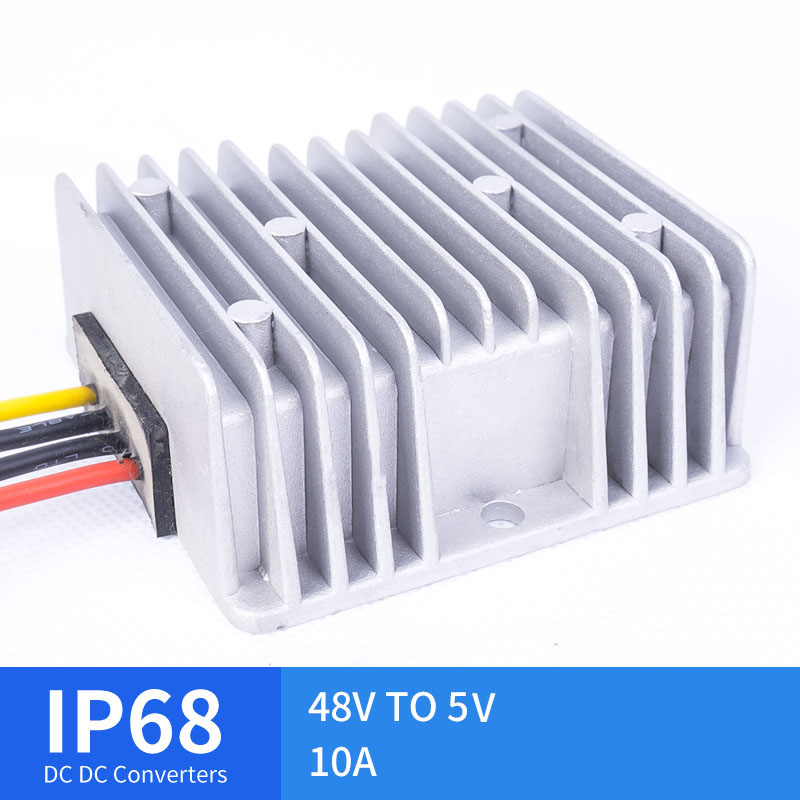 DC DC 48V TO 5V 10A Step-Down Converter for Automotive Solar Voltage RegulatorsDC DC 48V TO 5V 10A Step-Down Converter for Automotive Solar Voltage Regulators