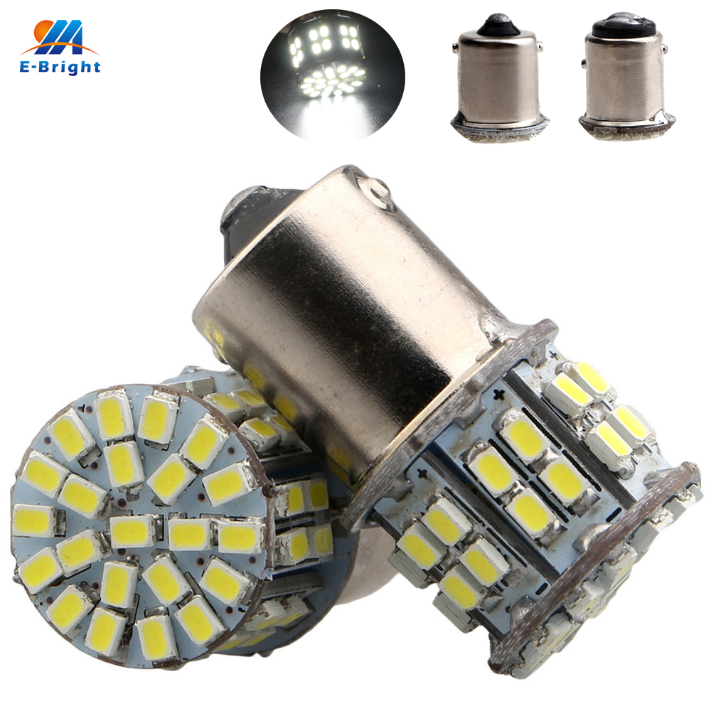 50PCS S25 1156 BA15S 1157 BAY15D 1206 50 SMD 50LED Turning Signal Lamp Indication Brake Light