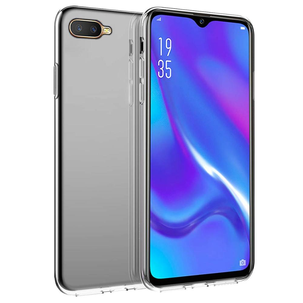 Anti Scratch Soft High Transparent TPU Phone Case Protective For OPPO K1 PBEM00 R15X Pro Clear Shock Absorption Crystal
