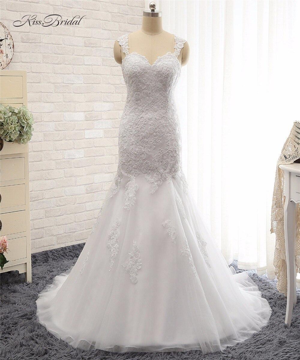 Vintage Wedding Gown Designers: Custom Design Wedding Dresses Sleeveless Mermaid Style