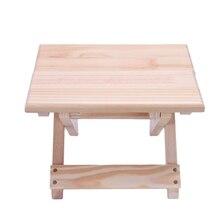 Przenośne krzesło plażowe prosty drewniany składany stołek meble ogrodowe krzesła wędkarskie nowoczesne mały taboret krzesło kempingowe