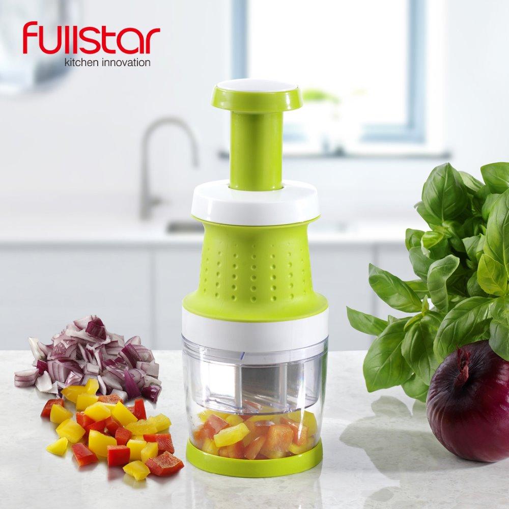 Fullstar Garlic Press Food Chopper Slap Chop Fruit Vegetable Grater Kitchen Accessories Tool