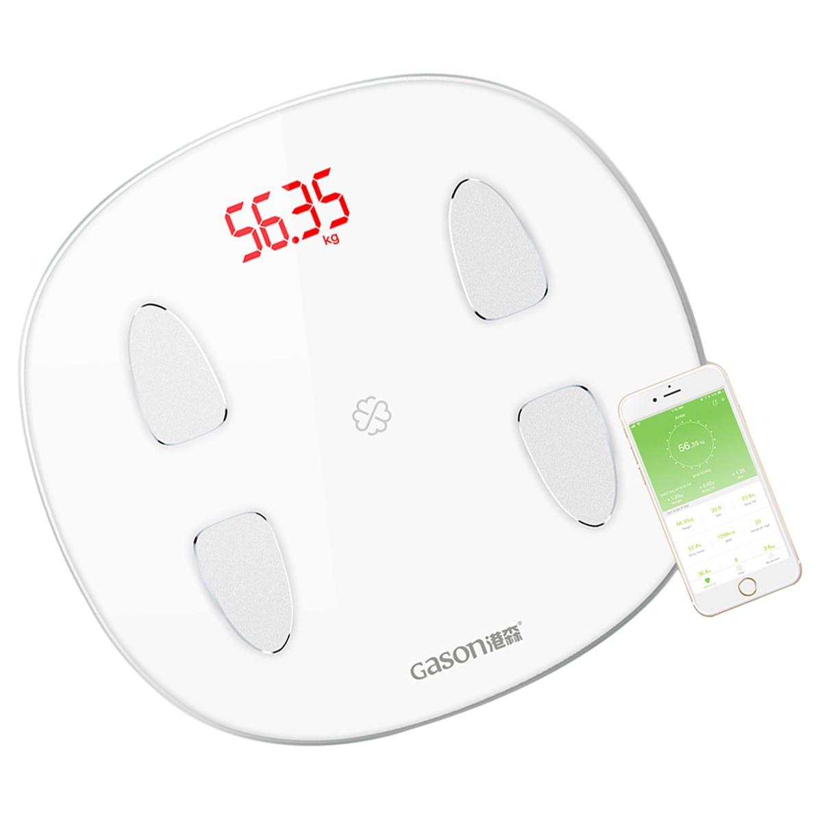 1 шт. весовые весы утилита портативные Bluetooth Stalinite Электронные цифровые весы для домашнего веса ing здоровья - 4