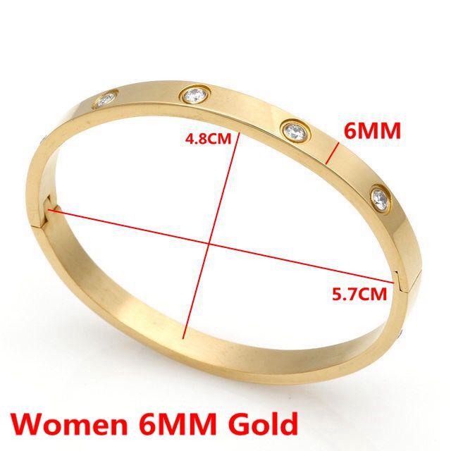 Women 6MM Gold