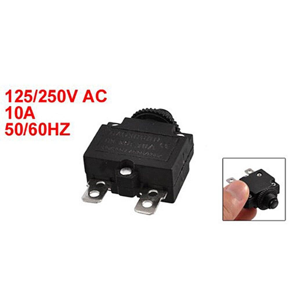 Circuit Breakers Circuit Breakers 10A FRT PANEL METAL .250 QC TAB ...
