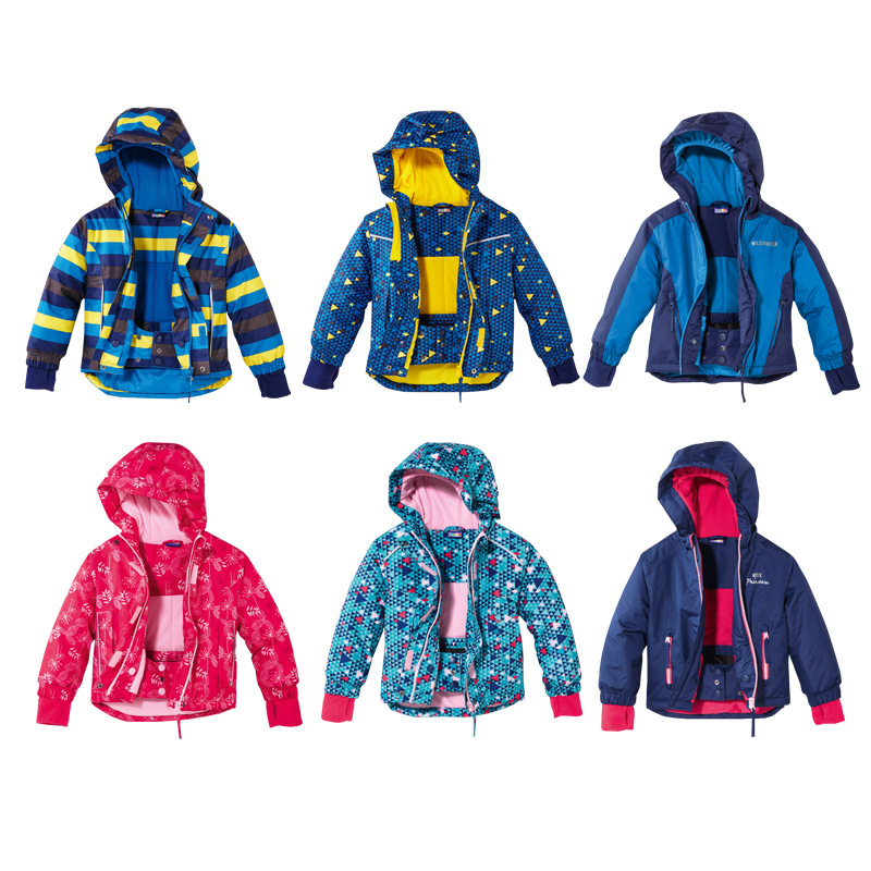 Fall and Winter 2019 New Outdoor Childrens Cotton Coats Boys and Girls  Fleece Thickened Windbreak Jacket 2-5years Skiing CoatFall and Winter 2019 New Outdoor Childrens Cotton Coats Boys and Girls  Fleece Thickened Windbreak Jacket 2-5years Skiing Coat