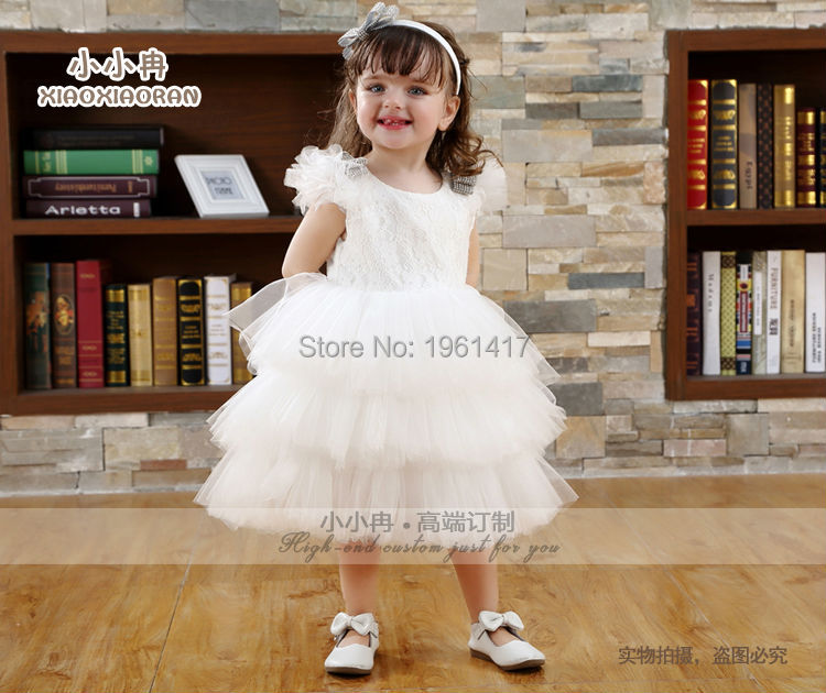 2016 Hot Sale Cheap Girls Lace Dress Baby Ball GownTutu Baby Dress Party Factory Price Direct Selling 2016 summer fashion dresses of the girls beautiful female baby lace dress can be customized factory price direct selling