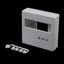 Boîtier de boîte de projet pour bricolage LCD1602 mètre testeur avec bouton 8.6x8.6x2.6cm 86 1 pièces