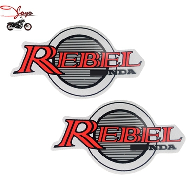 2015 new motorcycle gas tank red sticker decal for rebel 250