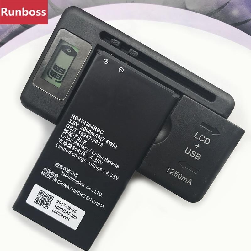 2a7c76bce61 HB474284RBC For Huawei Honor 3C Lite C8816D G521 Y550 Y5 Y560 G615 G601 G620  Y635 Y523 Y625-U32 Y625 Y625-U51 Battery+Charger