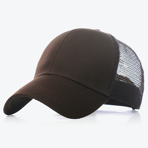 Unisex Men Women Casual Outdoor Mesh Cap Snapback Sport Sun Adjustable Hat