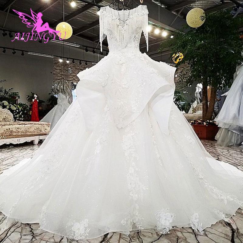 76b95ad538 AIJINGYU Shop Online Wedding Dresses Bridal Frocks Clothing New With Price  Gothic Ball Hi Low Gown Vietnam Wedding Dress