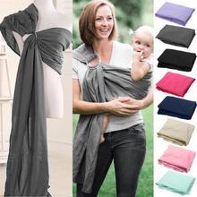 Детские младенческой Слинг Обёрточная бумага мягкого натурального Обёрточная бумага Мода для мамы-Carrier 0-2 лет дышащий хлопковый набедренный слинг Уход Обложка