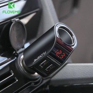 FLOVEME Dual USB Car Charger D