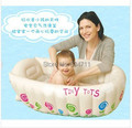New Inflatable Baby Tub/Soft Inflatable Baby Bathtub/Eco-friendly Portable Swimming Pool
