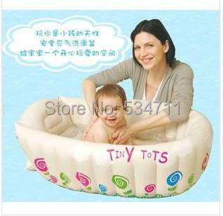 Nova Inflável Do Bebê Banheira/Soft Inflável Do Bebê Banheira/Eco Piscina Portátil