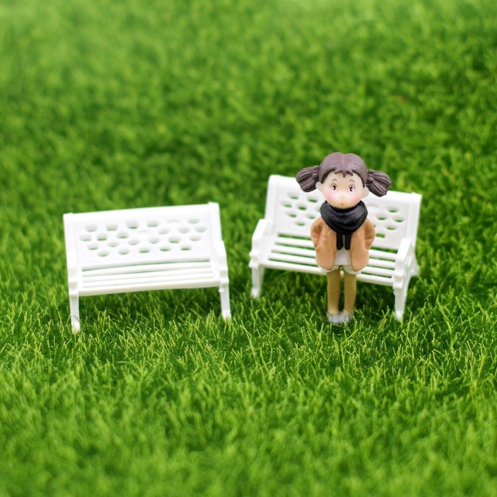 New Artificial Grass Lawn Turf Mat Dollhouse Miniature Decor Garden Landsca F0X5