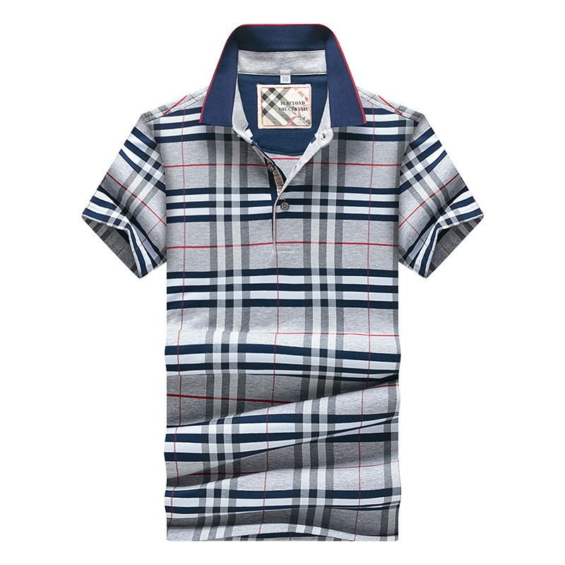 Aliexpress.com  Buy New 2016 Summer Style Plaid Classic business men polo shirt Loose New Brand Mens Polo Shirt For Men Cotton Short Sleeve from Reliable shirt brazil suppliers on Mystery Costumes(1)