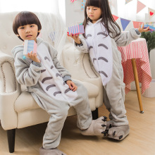 Totoro Pajamas Children Kids Boys Girls Pajamas Animal Pajamas Flannel Pajamas Winter Cartoon Animal Onesies Chrismas Pyjamas